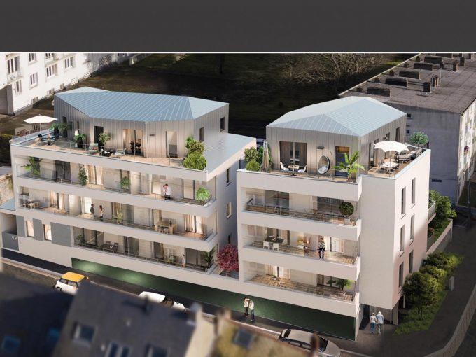 Appartement T3 surface de 91m2 situé sur la commune de NANTE